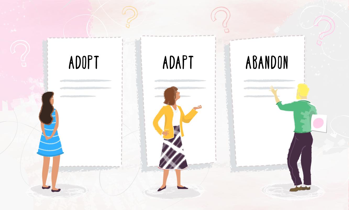 Adopt-adapt-abandon - 01