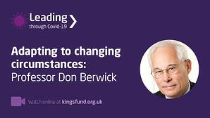 Kings fund Don Berwick