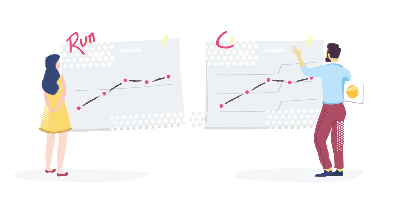 Run Charts vs Control Charts